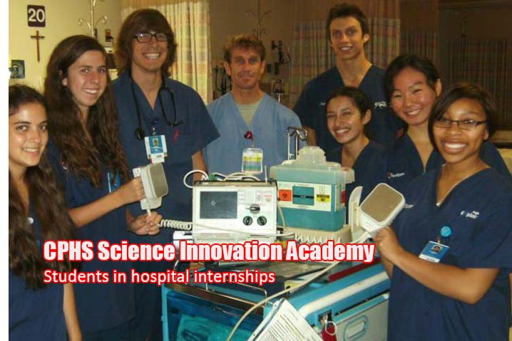 SIA Students at their Hospital Internships